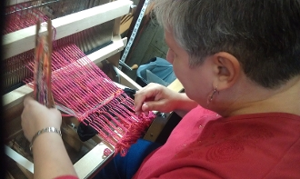WEAVING:  JUST PLAIN WEAVE - ART CLASS RETREAT