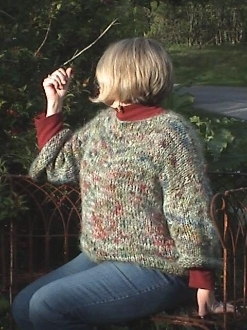 """Christi's NO-SEW SWEATER"" Downloadable Video/Pattern"