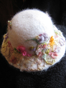 NEEDLE FELT SILK OR WOOL SCARF OR HAT - ART CLASS RETREAT